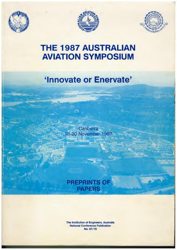 The 1987 Australian Aviation Symposium, 1987