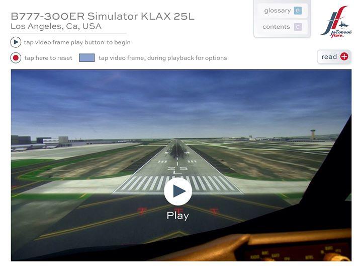 B777-300 Simulator Approach & Landing, RW25L, KLAX