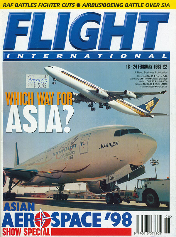 Flight International February 1998