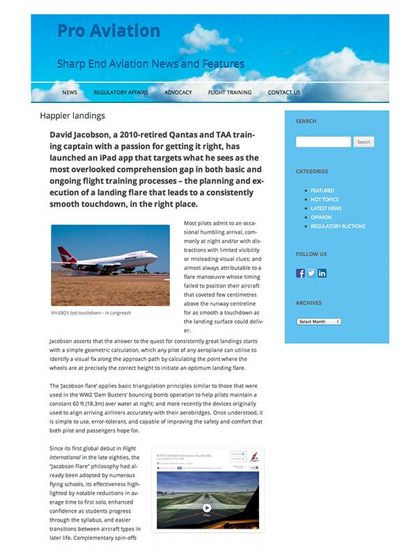 Pro Aviation November 2014